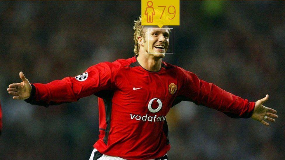 David Beckham in August 2002