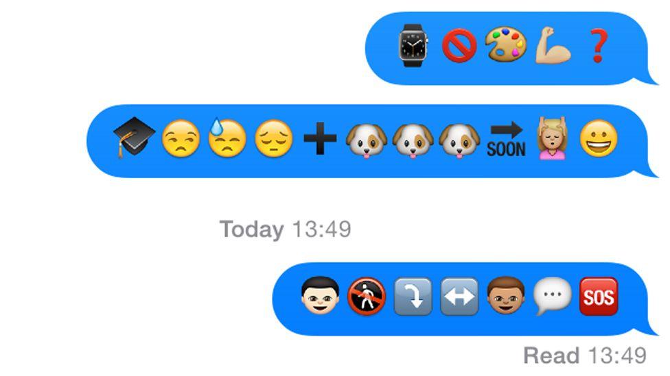 Decoding emoji messages
