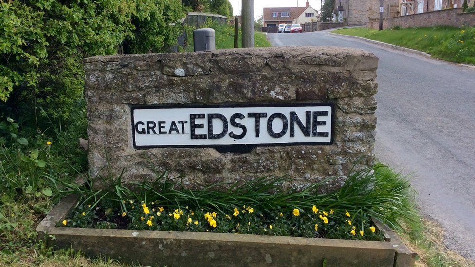 Great Edstone sign