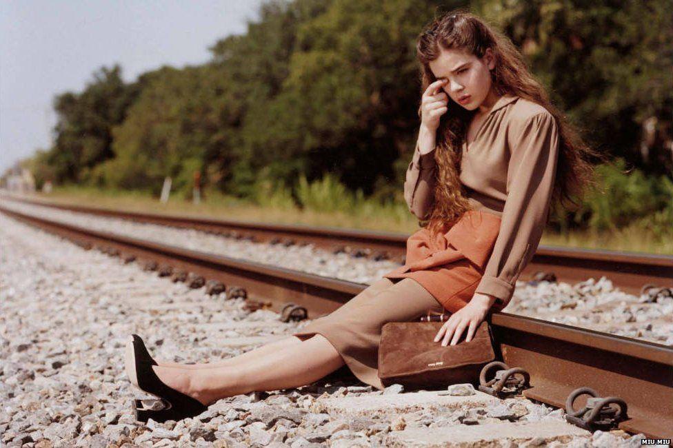 0b4e768eaf43 Irresponsible  Prada Miu Miu advert banned for  sexualising a model ...