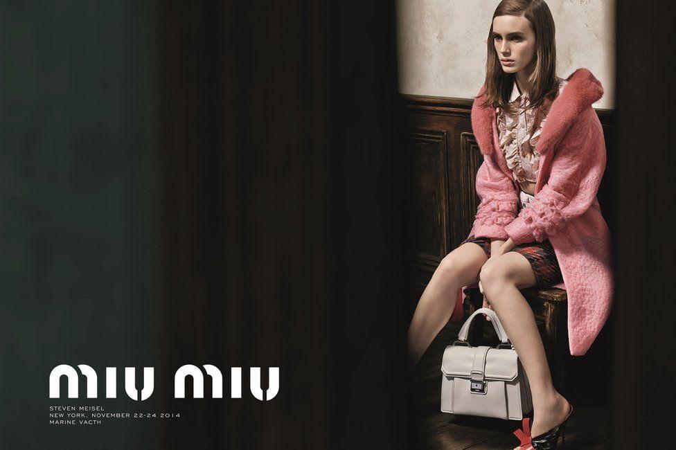 3f2d212c7a8d Irresponsible  Prada Miu Miu advert banned for  sexualising a model ...