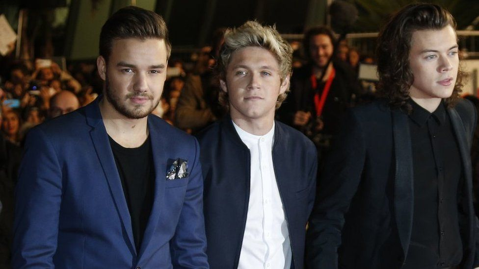 Liam, Niall and Harry