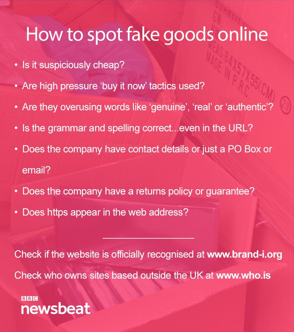 How to spot a fake beauty product online after online