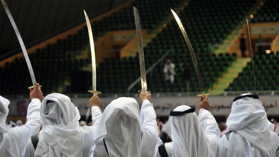 Swords in Saudi Arabia