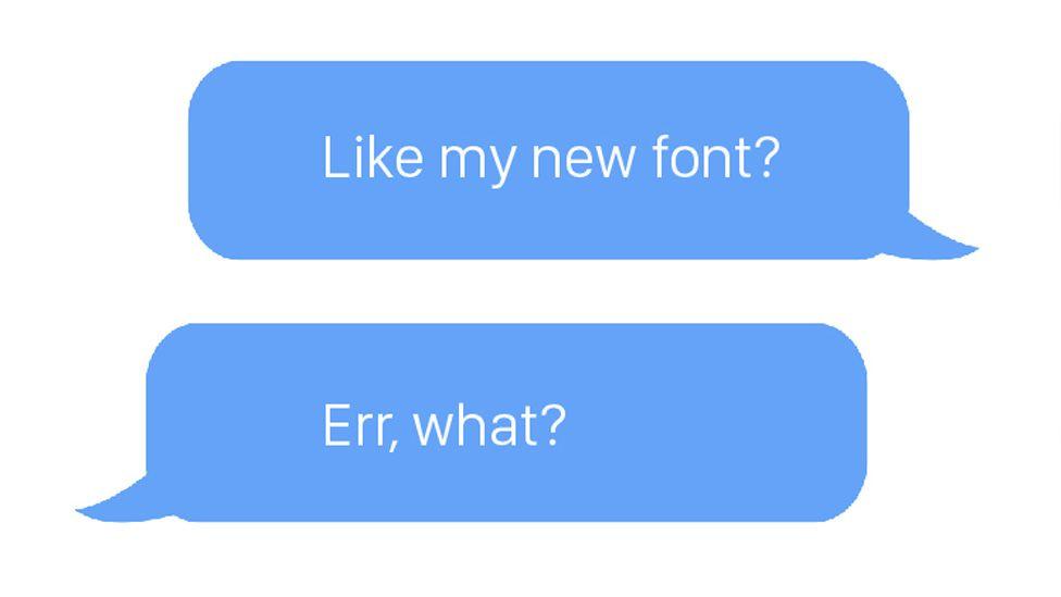 Apple's new font, San Francisco