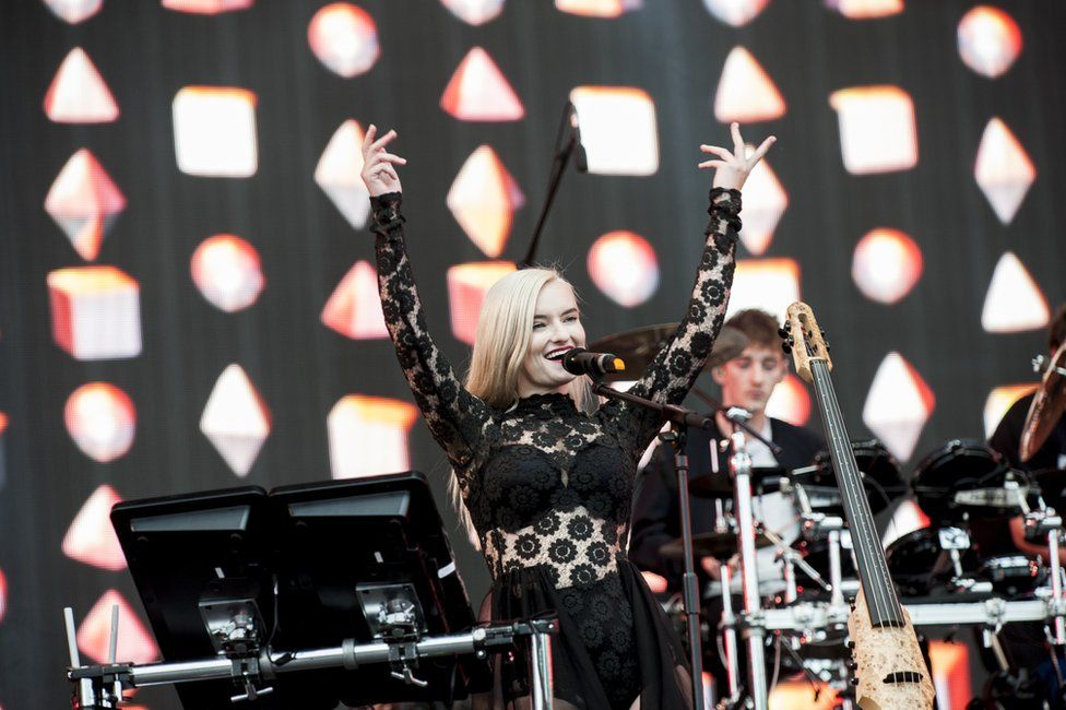 Grace Chatto from Clean Bandit