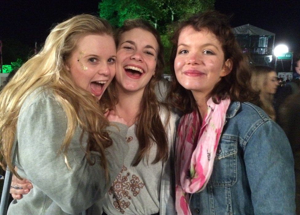 Clementine Baldwin, Alice Wright and Beth Daphney