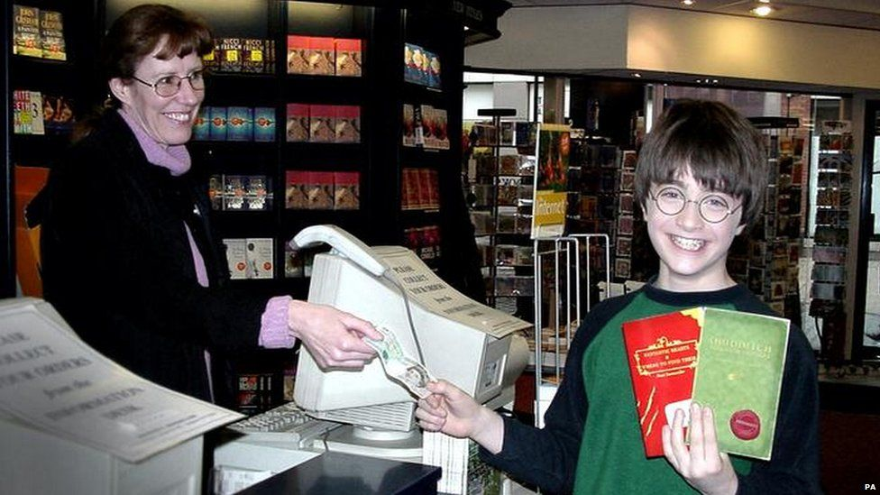 Daniel Radcliffe thrilled to bits to be buying essential Hogwarts material