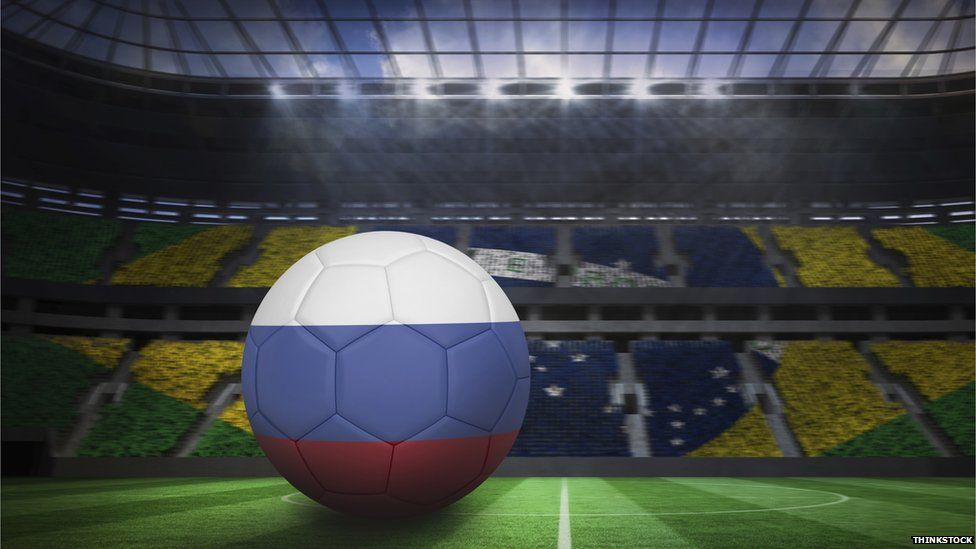Russia will host the World Cup