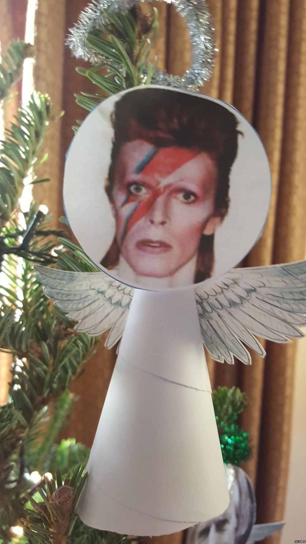 david bowie angel on the tree - David Bowie Christmas