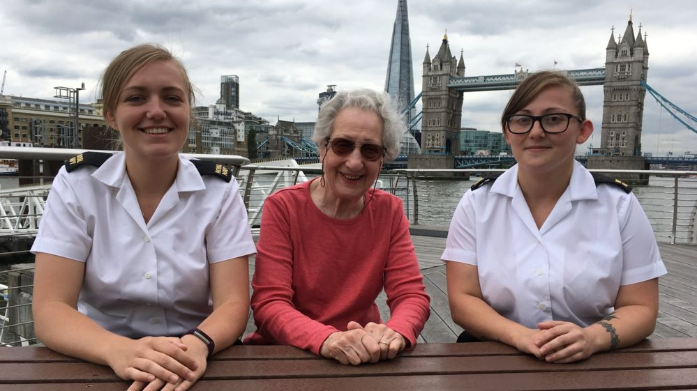 Lynsey, Marie and Sara talk about how things have changed for women in the Armed Forces