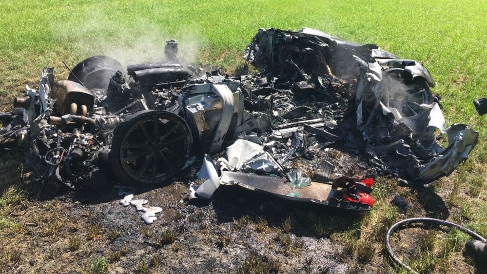 Five times supercars have been trashed - BBC Newsbeat