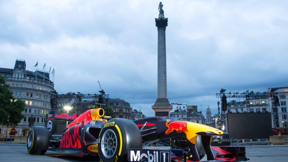 F1 in Trafalgar sqaure