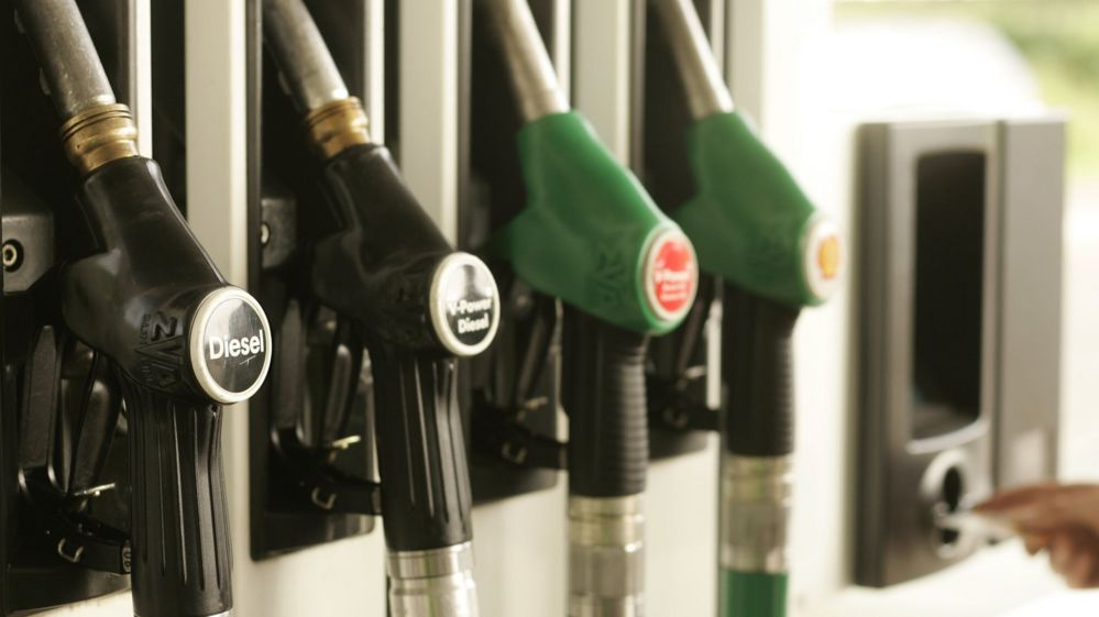 petrol pumps