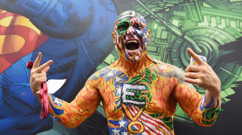 Comic-Con attendee