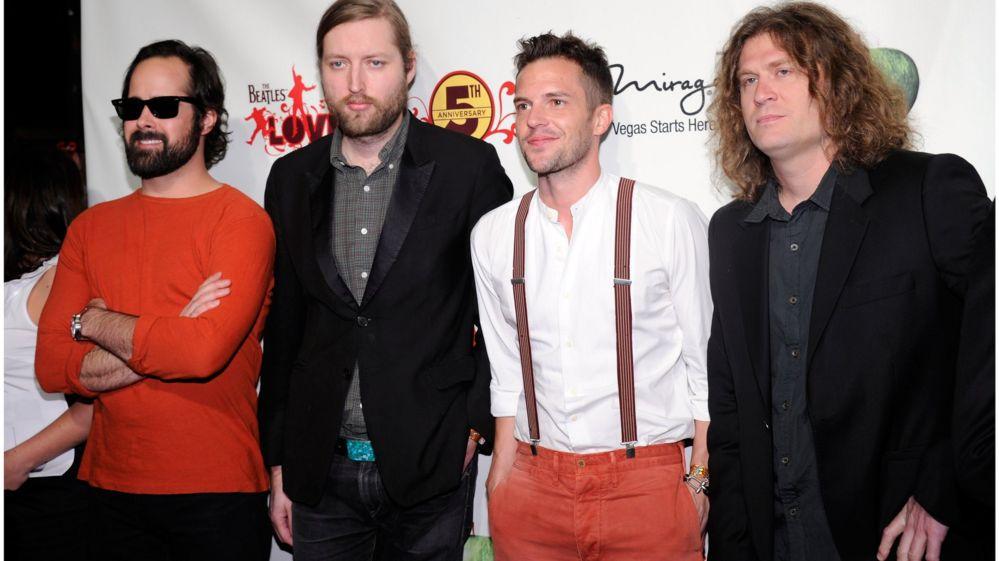 The Killers voted weirdest song lyric