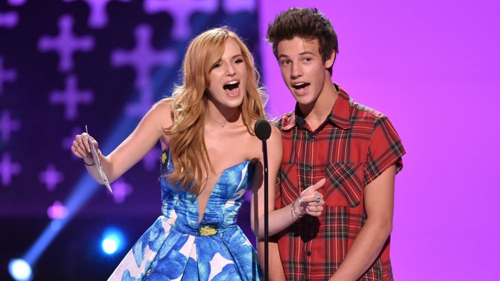 Bella Thorne and Cameron Dallas
