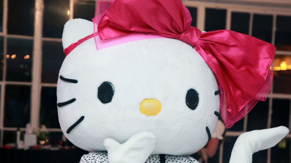 bc3e039a3 Hello Kitty is not a cat - she's a British school kid - BBC Newsbeat