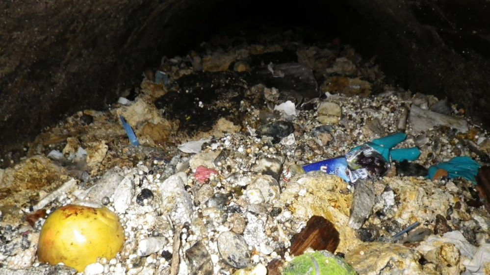 Fatberg under Shepherd's Bush