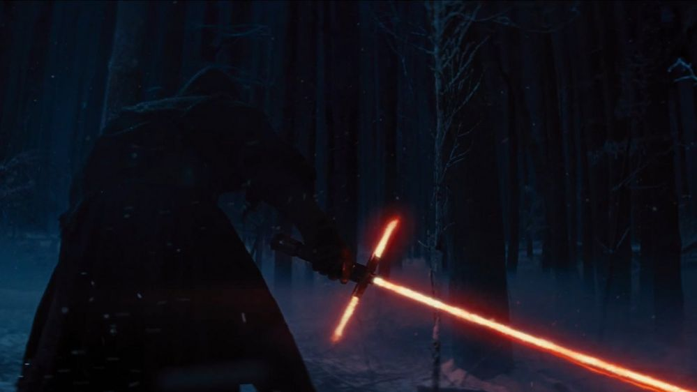 The controversial light saber