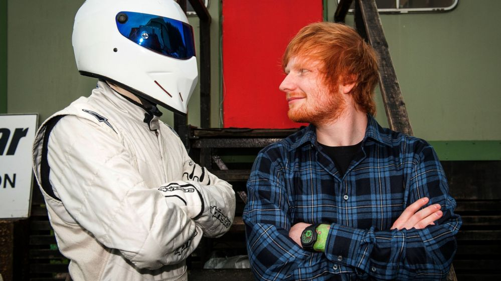 ed sheeran crashes 39 reasonably priced car 39 on top gear track bbc newsbeat. Black Bedroom Furniture Sets. Home Design Ideas