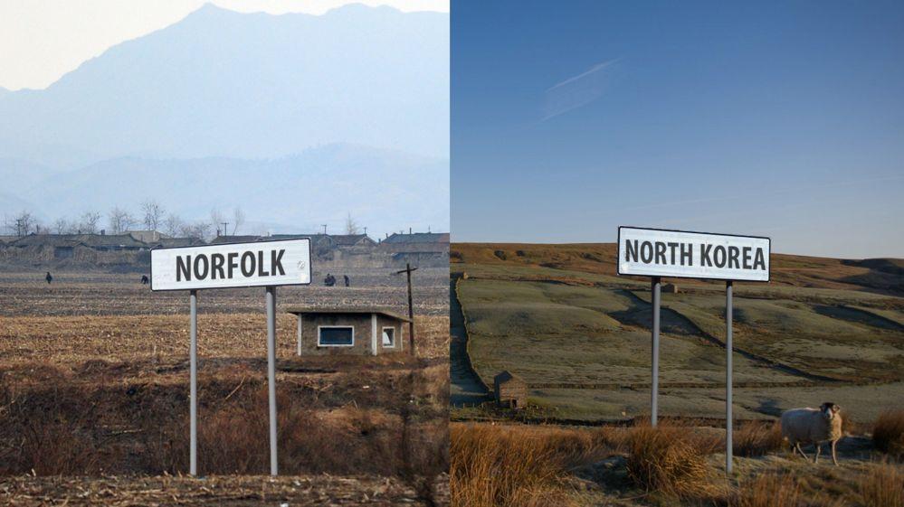 North Korean slogans versus UK environment policy! Quiz