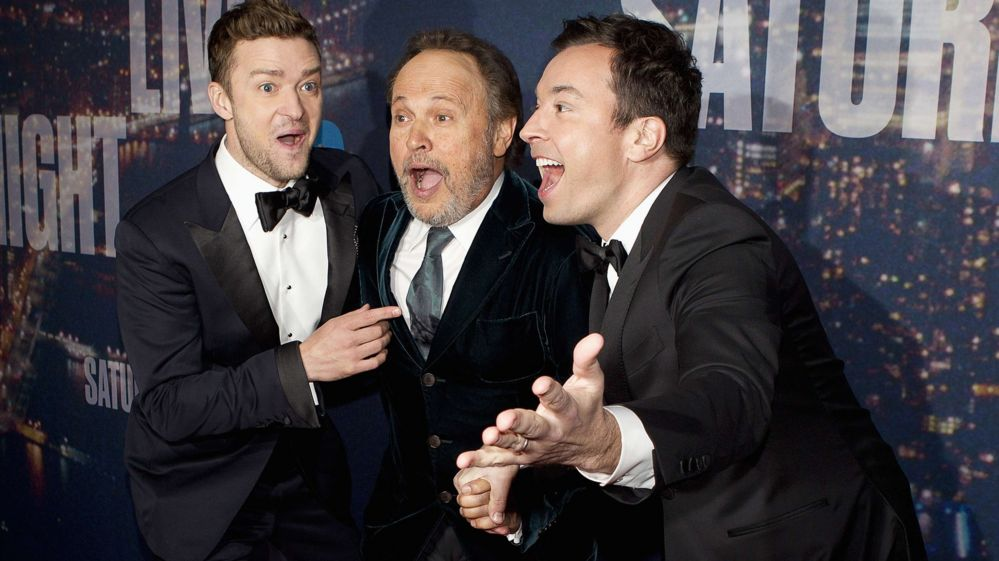 Justin Timberlake, Billy Crystal and Jimmy Fallon