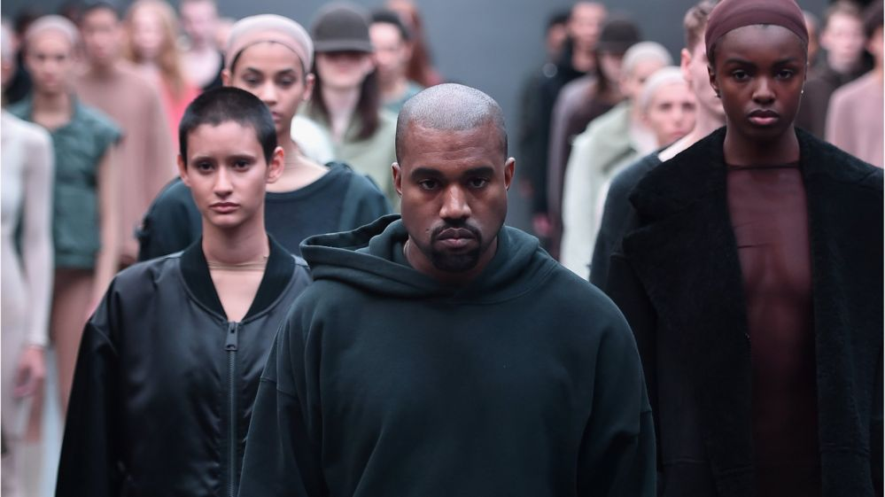 1ab204ab3e43 Kanye West clothes  influenced  by UK riots - BBC Newsbeat