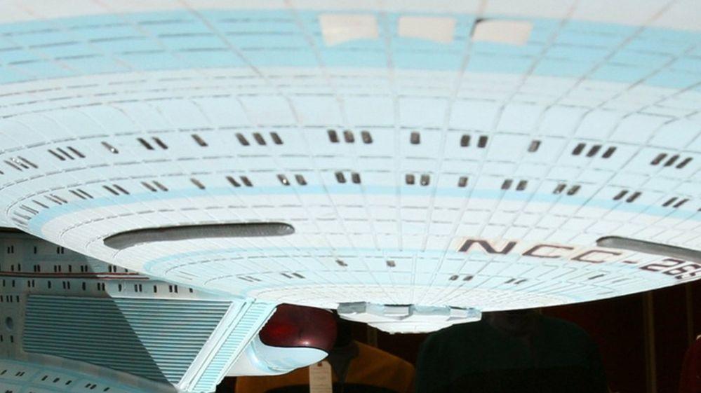 Model of the Starship Enterprise