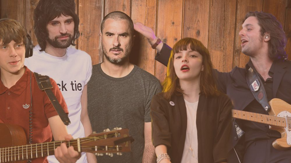 Zane Lowe and other musicians