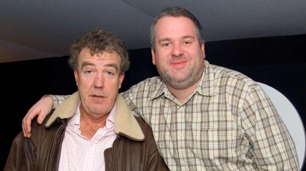 Jeremy Clarkson and Chris Moyles in 2007