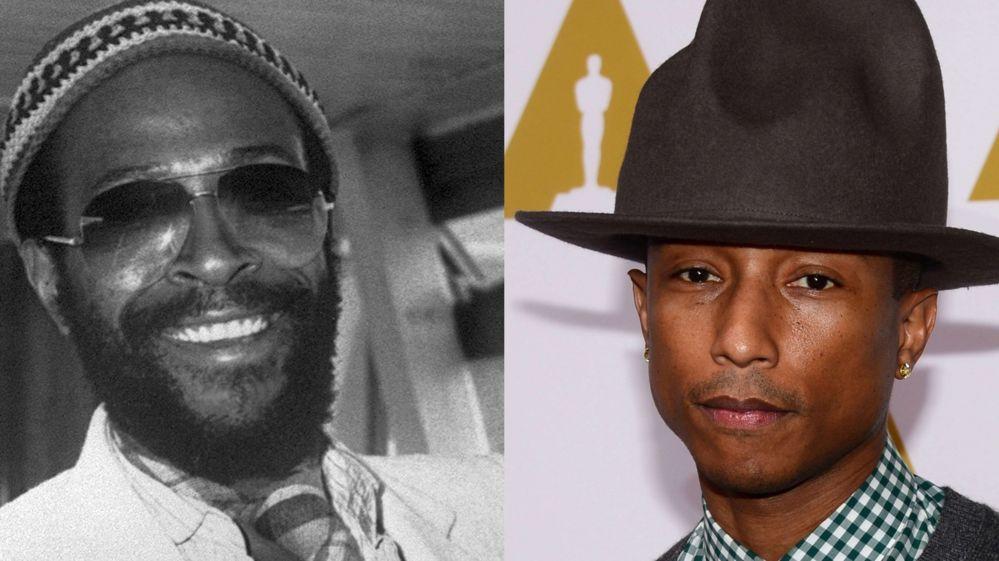 Did Pharrell copy Happy off Marvin Gaye?