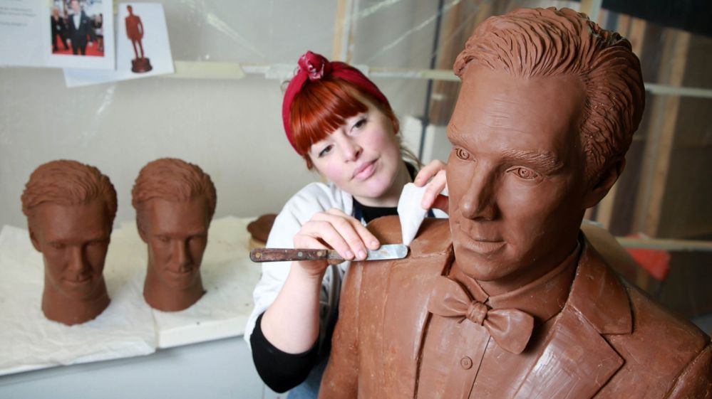 Chocolate Benedict Cumberbatch