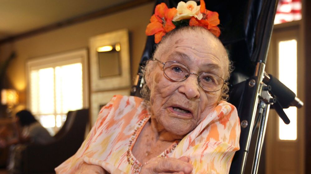 new oldest person in the world is 116 year old gertrude weaver from