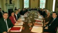 Labour cabinet in 1998
