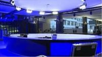 European Parliament Election special studio in Brussels