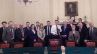 Members of the Welsh Conservatives with Prime Minister David Cameron