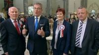 Mike Nesbitt and party councillors