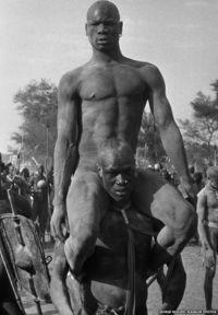 Kordofan, The Nubas, Sudan. 1949