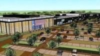 Artist's impression of Rushden Lakes development
