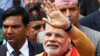 Narendra Modi in Nepal