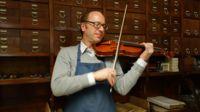 Mathijs Heyligers, master violin maker, Cremona