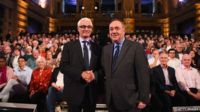 Second televised debate between Alex Salmond and Alistair Darling