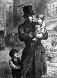 British Bobby circa 1864