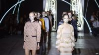 Models present creations for Masha Ma in Paris