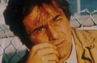 Peter Falk, playing TV detective Columbo