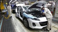 Car production in Thailand