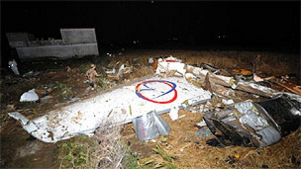 Os maiores desastres aéreos dos últimos dez anos - BBC Brasil