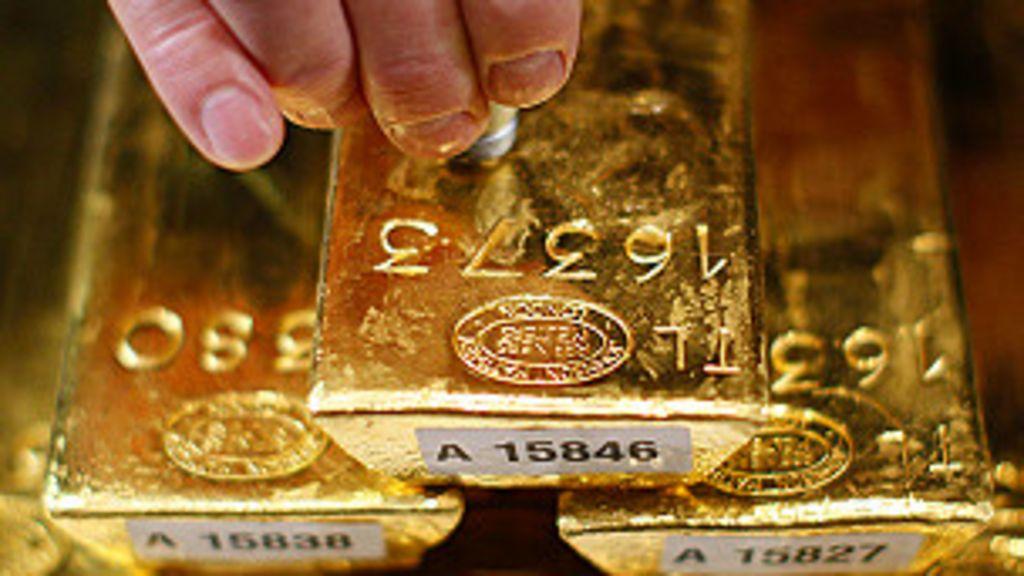 Todo o ouro do mundo caberia em uma sala? - BBC Brasil
