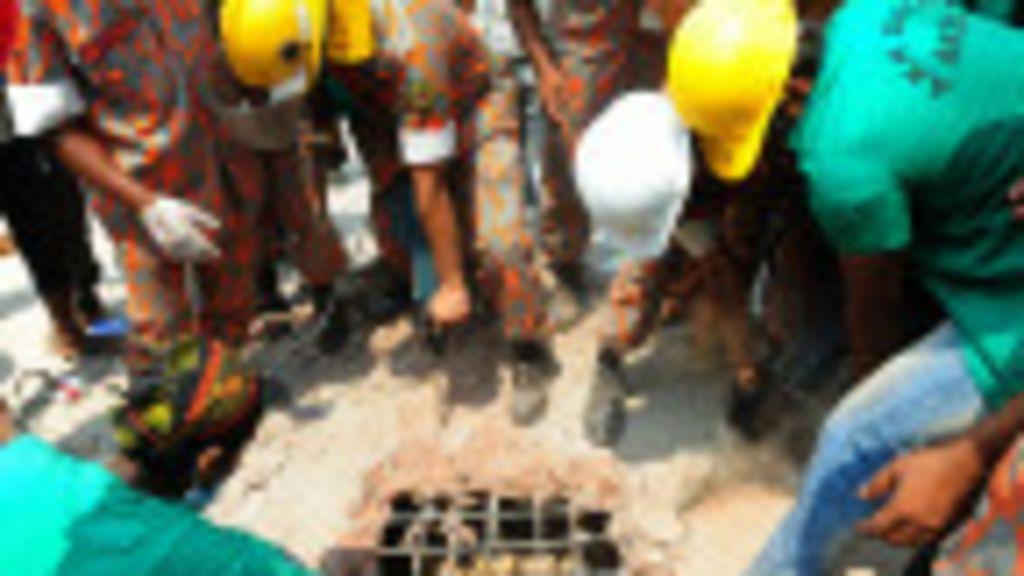 Bombeiros encontram mais sobreviventes de desabamento de ...